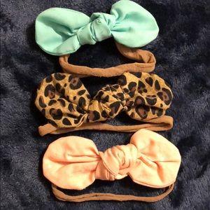 Other - Newborn baby girl headband bows